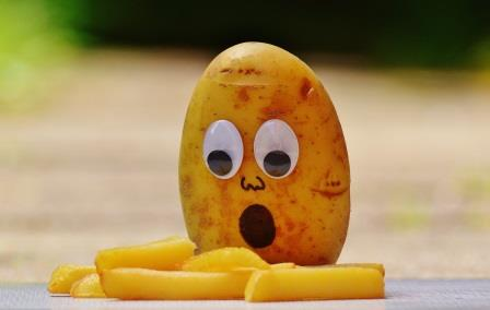 Potato mourning - how to loose weight